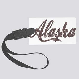 Vintage Alaska Large Luggage Tag