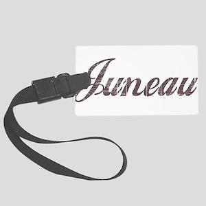 Vintage Juneau Large Luggage Tag