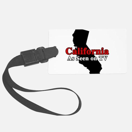California Motto Luggage Tag