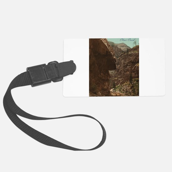 Colorado Clear Creek Luggage Tag