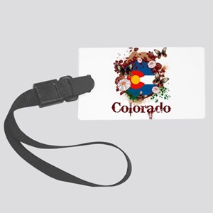 Butterfly Colorado Large Luggage Tag