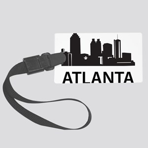 Atlanta Skyline Large Luggage Tag