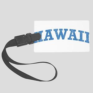 Vintage Hawaii Large Luggage Tag