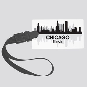 Chicago Skyline Large Luggage Tag