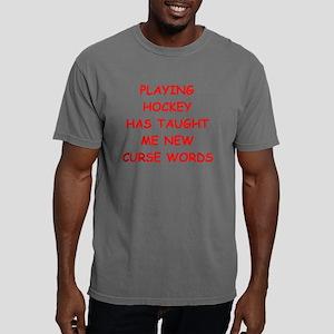 i love hockey Mens Comfort Colors Shirt