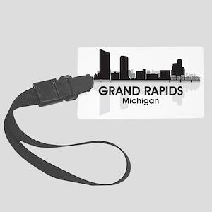Grand Rapids Skyline Large Luggage Tag