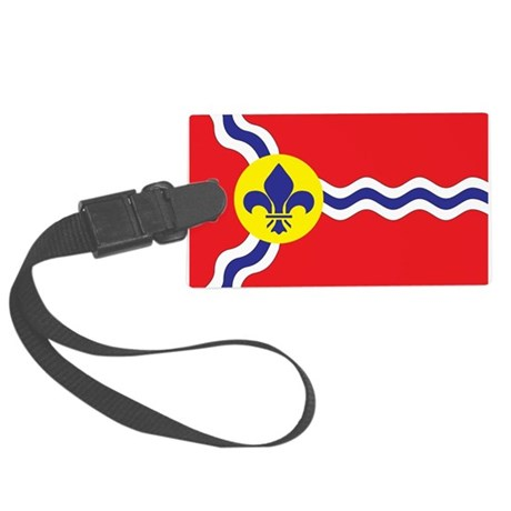 St. Louis Flag Large Luggage Tag