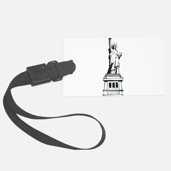 Hand Drawn Statue Of Liberty Luggage Tag