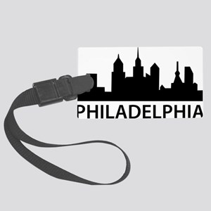 Philadelphia Skyline Large Luggage Tag