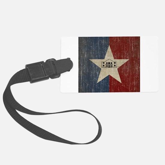 Vintage San Antonio Flag Luggage Tag