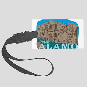 The Alamo Large Luggage Tag