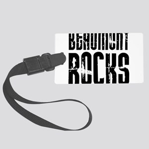 Beaumont Rocks Large Luggage Tag