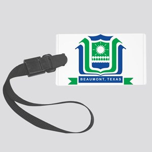 Beaumont Flag Large Luggage Tag