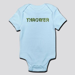 Thrower, Vintage Camo, Infant Bodysuit