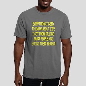 Blk_Killing_Smart_People Mens Comfort Colors Shirt