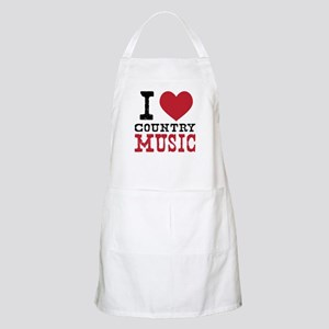 Country Music Apron