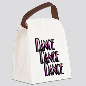 DANCE DANCE DANCE- PURPLE SWIRL copy Canvas Lu