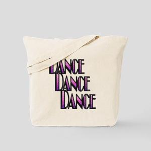 DANCE DANCE DANCE- PURPLE SWIRL copy Tote Bag