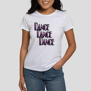 DANCE DANCE DANCE- PURPLE SWIRL copy Women's T