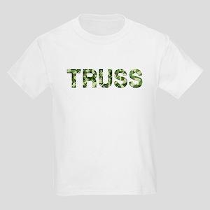 Truss, Vintage Camo, Kids Light T-Shirt
