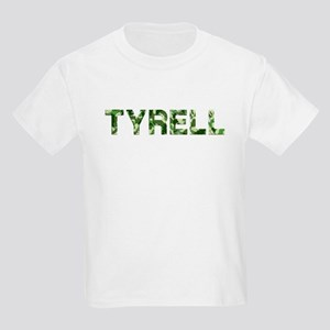 Tyrell, Vintage Camo, Kids Light T-Shirt