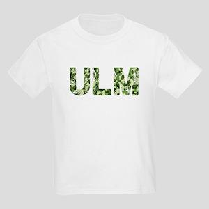 Ulm, Vintage Camo, Kids Light T-Shirt