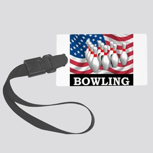 American Bowling Large Luggage Tag