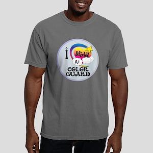 I Dream of Color Guard Mens Comfort Colors Shirt