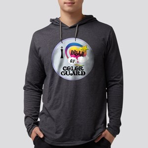 I Dream of Color Guard Mens Hooded Shirt