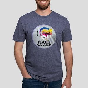I Dream of Color Guard Mens Tri-blend T-Shirt