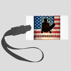 Grunge USA Gymnastics Large Luggage Tag