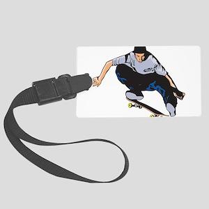 Skateboarding Large Luggage Tag