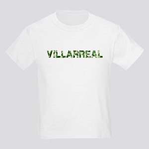 Villarreal, Vintage Camo, Kids Light T-Shirt