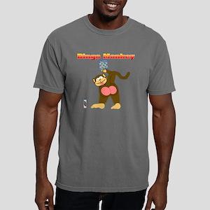 Bingo Monkey Mens Comfort Colors Shirt