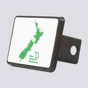 New Zealand Map Rectangular Hitch Cover