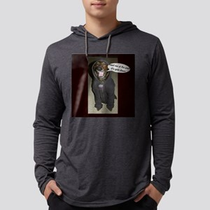 Dog in Hoody Dog T-Shirt Mens Hooded Shirt