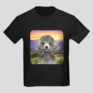 Poodle Meadow Kids Dark T-Shirt