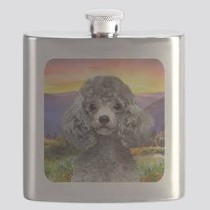 Poodle Meadow Flask
