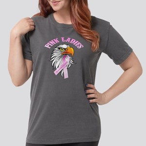 Pink Ladies Eagle Head Womens Comfort Colors Shirt