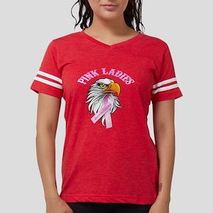 Pink Ladies Eagle Head Womens Football Shirt