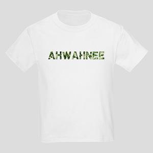 Ahwahnee, Vintage Camo, Kids Light T-Shirt