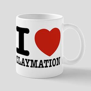 I love Claymation Mug