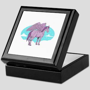 Purple Pegasus Keepsake Box