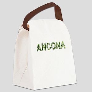 Ancona, Vintage Camo, Canvas Lunch Bag