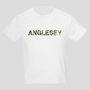 Anglesey, Vintage Camo, Kids Light T-Shirt