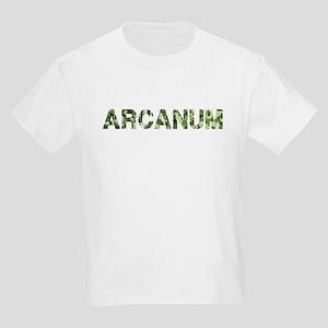 Arcanum, Vintage Camo, Kids Light T-Shirt