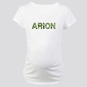 Arion, Vintage Camo, Maternity T-Shirt