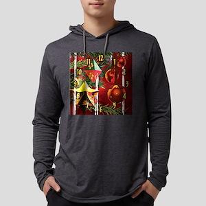 3dtreeclock Mens Hooded Shirt