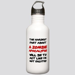 Zombie Apocalypse Stainless Water Bottle 1.0L