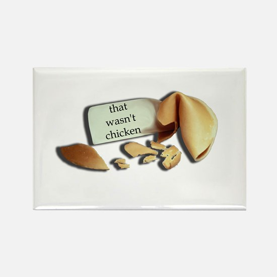Fortune Cookie Rectangle Magnet